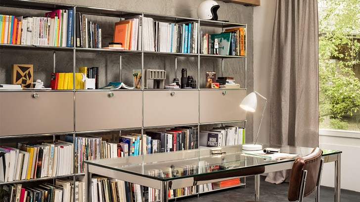 Le système de meubles polyvalents FLEXCUBE